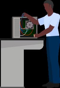 Conserto de computadores